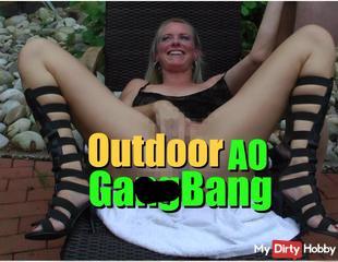 Outdoor AO GangBang