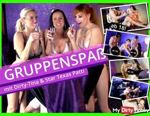 SEXORGIE mit Dirty-Tina und Pornostar Texas Patti