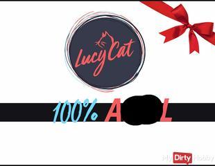 100% ANAL - MEHR NICHT!       LUCY CAT