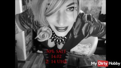 14.02 50% SALE! 30 NEUE Videos!