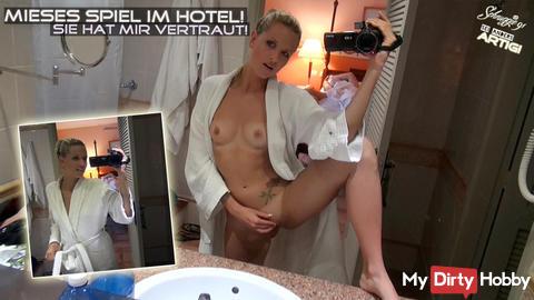 Jetzt online: Mieses Spiel im Hotel! Sie hat mir vertraut!