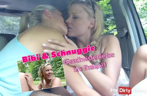 Bibi & Schnuggie!!! Geschwisterliebe im Freien!!