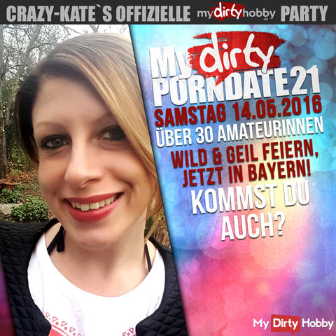 MyDIRTY-PORNDATE 21 | 14.05.2016 / Bayern