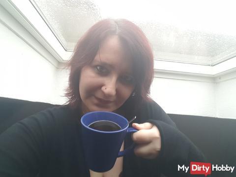EIn Tee am Morgen ...