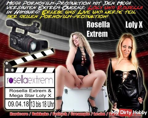 Mega Porno-Film-Produktion, mit 2 versauten Top-Girls, am 09.04.18!