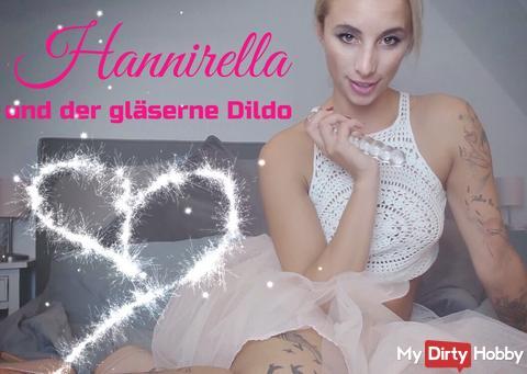 Hannirella and the glass dildo!