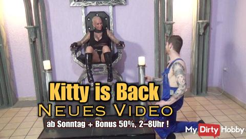 !! Kitty is back! New video and 50% bonus !!