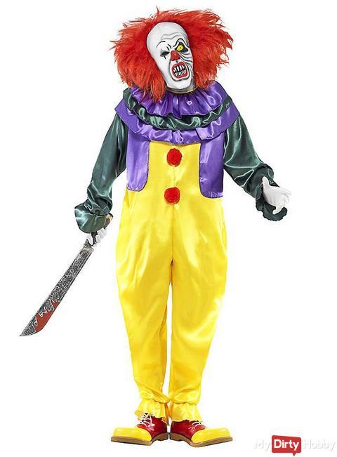 möchtest Du mein Drehpartner sein - Horror Clown