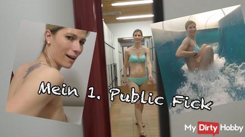 Mein 1. Public Fick Video