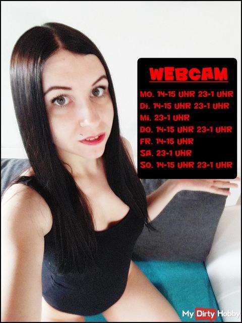 Meine Webcamzeiten vom 15.05 - 21.05