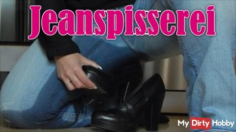 **** neues Jeans Piss Video ****