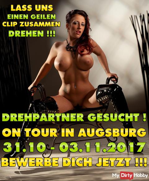 DREHPARTNER FÜR AUGSBURG GESUCHT ! 31.10 - 03.11.2017 !!! JETZT GLEICH BEWERBEN !!! ICH FREU MICH AUF DICH KNUTSCH KNUTSCH*