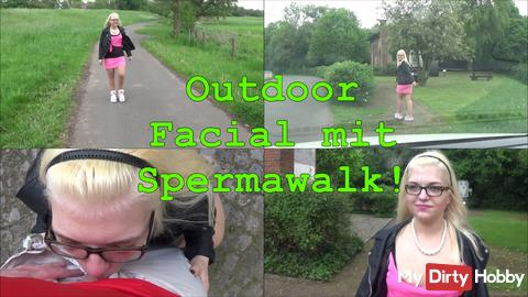 50% auf mein Video Outdoor Facial mit Spermawalk!