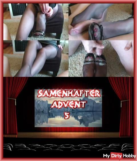 SAMENHAFTER VIDEOKALENDER TÜR 5