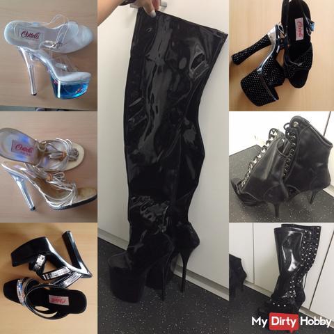 Zu verkaufen: sexy getragene High Heels