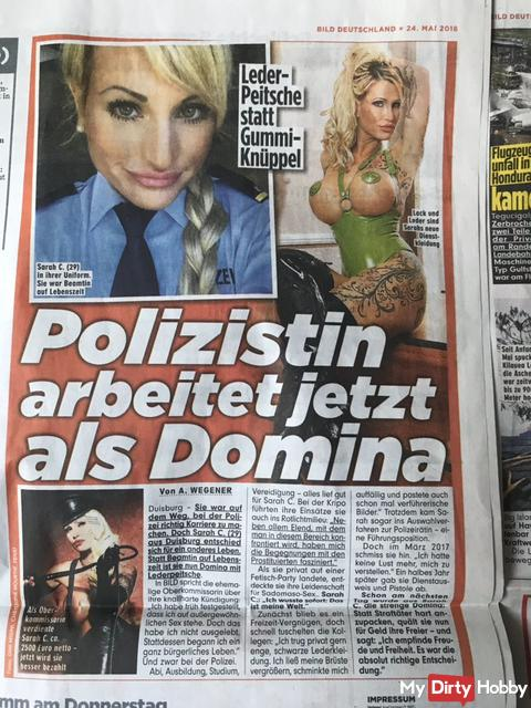 From the policewoman to the dominatrix