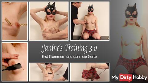 Neues Video mit meiner Sklavin Janine ist Online