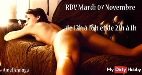 rdv Mardi 7Novembre