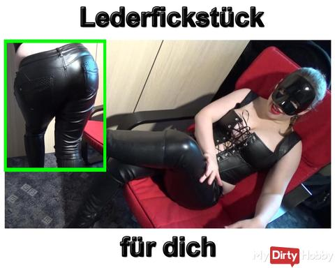 New Video: Horny leather Fickstück for you
