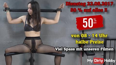 50% im PROFIL SALE!