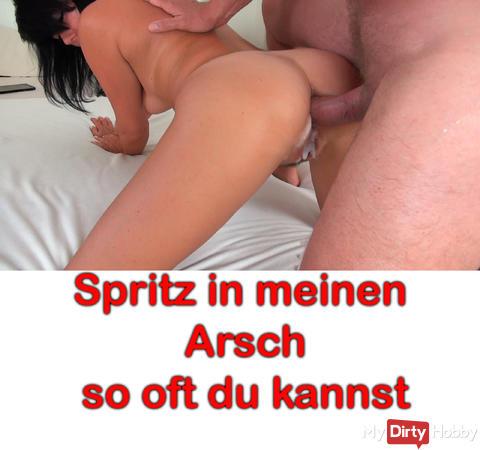 """NEUES VIDEO ONLINE: """"Perverser Arsch-Fick Deal. Spritz so oft du kannst!"""""""