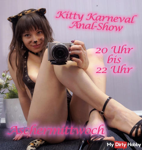 Kitty carnival anal show!
