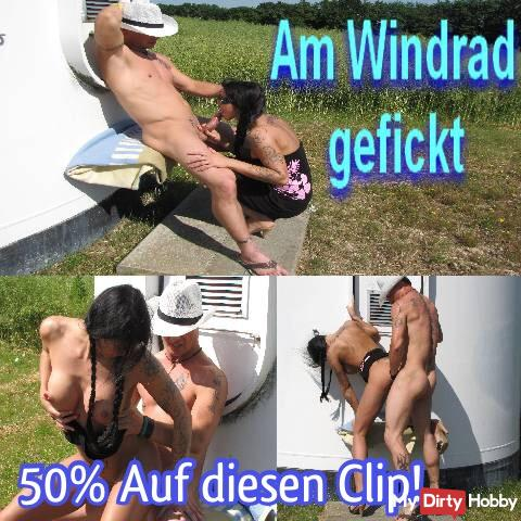 50% !! Today from midnight to midnight !! On this clip: Fucked on the windmill! 50% !!