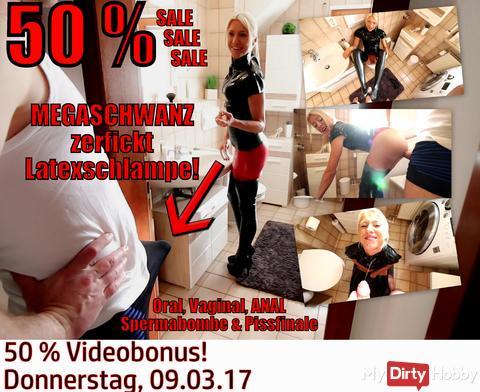 50 % VIDEOBONUS