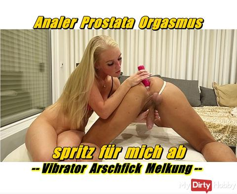 Anal prostate orgasm - spray for me from --- the next nasty clip is launched --- from now online