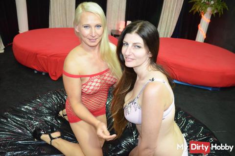 Orgie mit Sabrina Deep und Gina Blonde