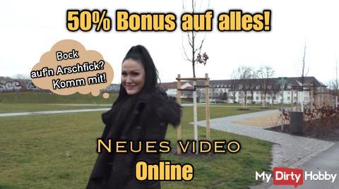 Wow, neues Video und 50% Bonus auf alles!