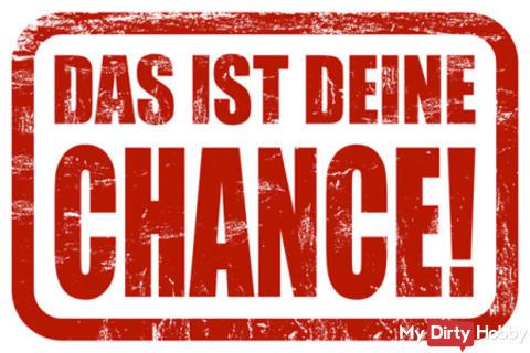DEINE CHANCE!!! FICKE EINE NEWCOMERIN VOR DER KAMERA IN IHREM ERSTEN VIDEO !!!!