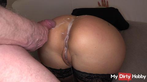 *neues Video online* Monster-Mega Sperma Ladung auf den Arsch