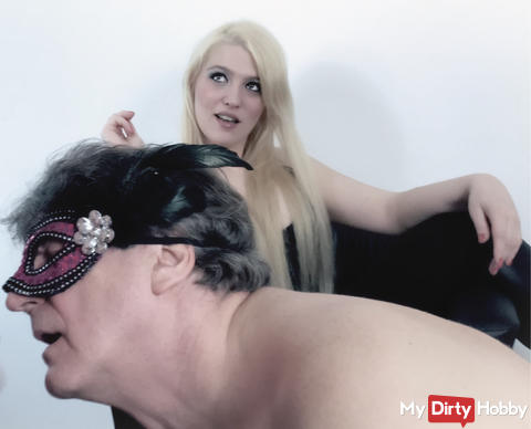 Blow for the mistress