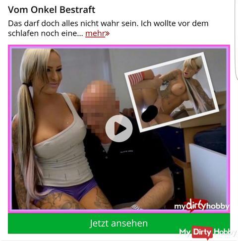 "50% ""Vom Onkel bestraft"""