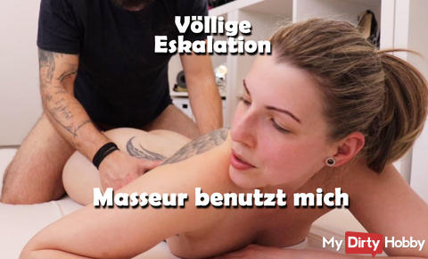 New Video - Complete ESCALATION Masseur USES ME