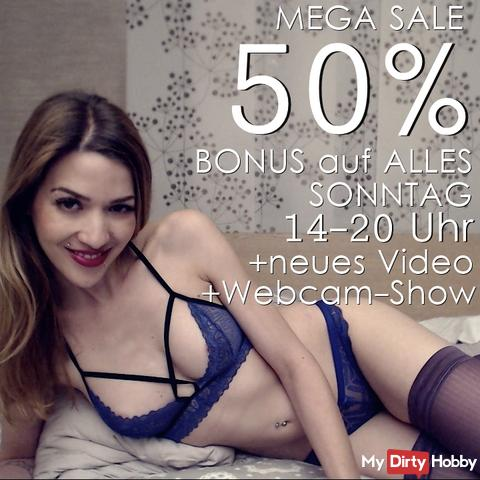 Today Mega Sale 50% !!