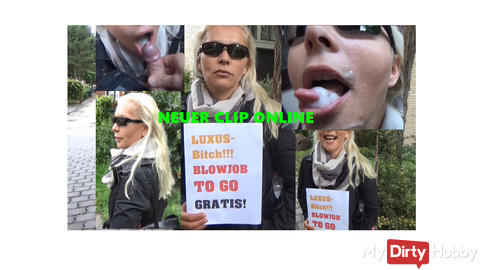 Neues Topvideo online:Luxus-Bitch! Blowjob TO GO! Gratis!!!!! starten?? Topvideo!!!!