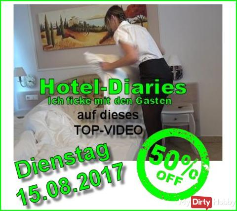 "50% Video-Sale ""Hotel Diaries I Ich ficke mit den Gästen"""