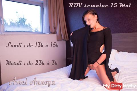 RDV semaine 15 Mai