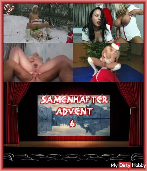 SAMENHAFTER VIDEOKALENDER TÜR 6