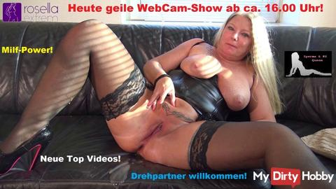 Today, on 26.05.18, cool WebCam show!