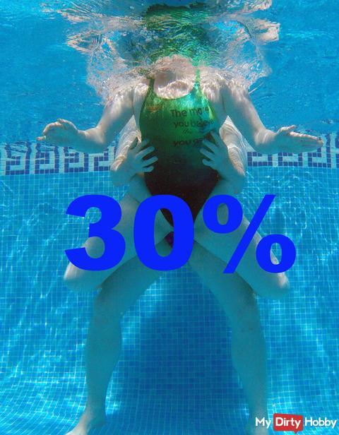 Heute von 20 - 2 Uhr auf alle Inhalte 30 % Rabatt