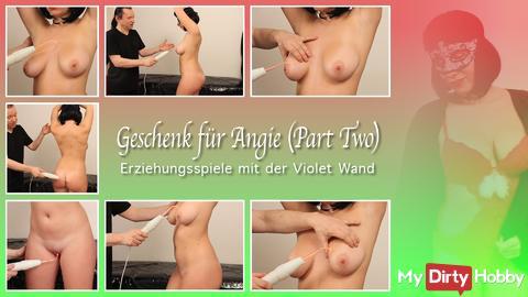 Neues Video mit Angie ist im Anmarsch!