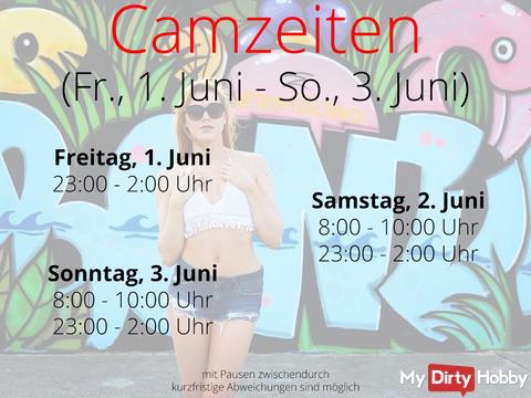 Camtimes - Fri. June 1st - Sun. June 3rd