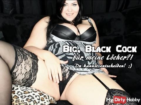 Mein erstes Drehbuch! Ein Big. Black Cock für Mina?! Du kannst entscheiden!