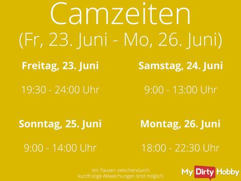 Camtimes Fri., 23.06.17 till Mon., 26.06.17