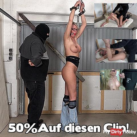 50%!! Heute von 0.00 Uhr bis 24.00 Uhr!! Auf dien Clip: Hilfe!! Gefesselt und Benutzt!!!50%!!