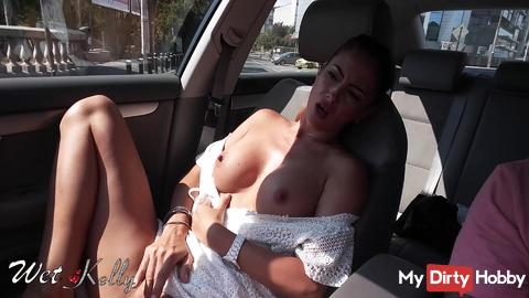 Masturbate in your own car is normal?