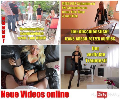 4 new videos online | Gangbangfotze - Farewell Fuck - Hardcore - Dirty